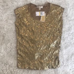 Michael Kors Sequin Shirt